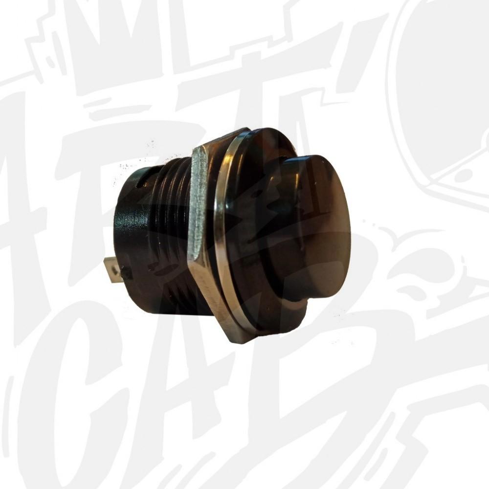 Bouton service 16mm - Noir
