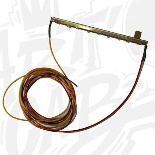 Potentiomètre linéaire 10 Kohm 100mm avec câble de 1 mètre