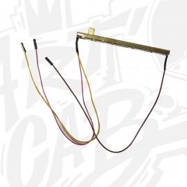 Potentiomètre linéaire 10 K mono soudé avec câble dupont 30cm