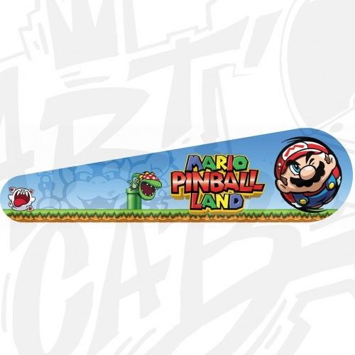 "Planche Stickers Flippy 24"" - Mario PINBALL LAND"