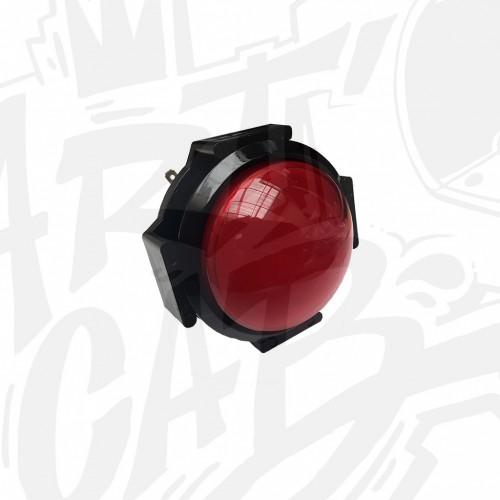 Bouton lumineux 63mm dôme - Rouge