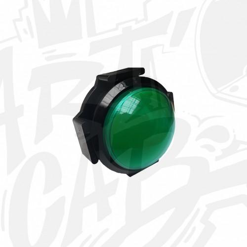 Bouton lumineux 63mm dôme - Vert