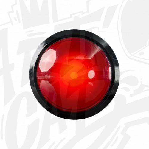 Bouton lumineux 100mm dôme - Rouge