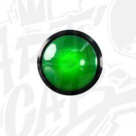 Bouton lumineux 100mm dôme - Vert