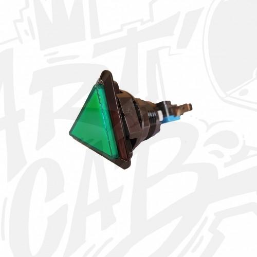 Bouton lumineux triangulaire - Vert
