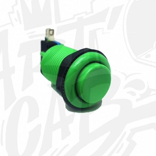 Bouton incurvé 28mm - Vert