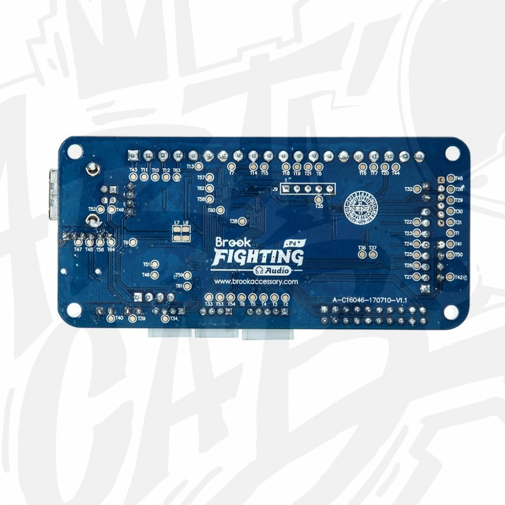 Fighting board PS4 + Audio - BROOK