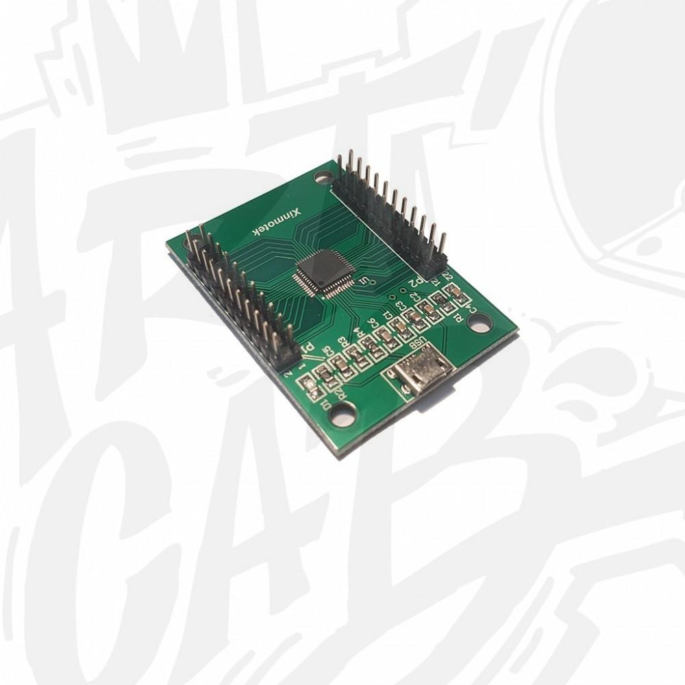 Encodeur joystick/boutons PC/PS3 2P avec cosses 4.8mm - Xin-mo