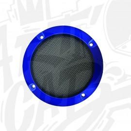 Grille haut-parleur 95mm - Bleue