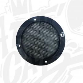 Grille haut-parleur 95mm - Noire