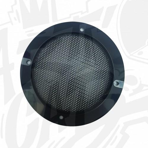 Grille haut parleur 120mm - Noire