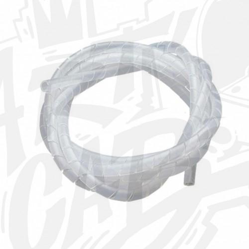 Gaine  spirale - Transparente - 15m