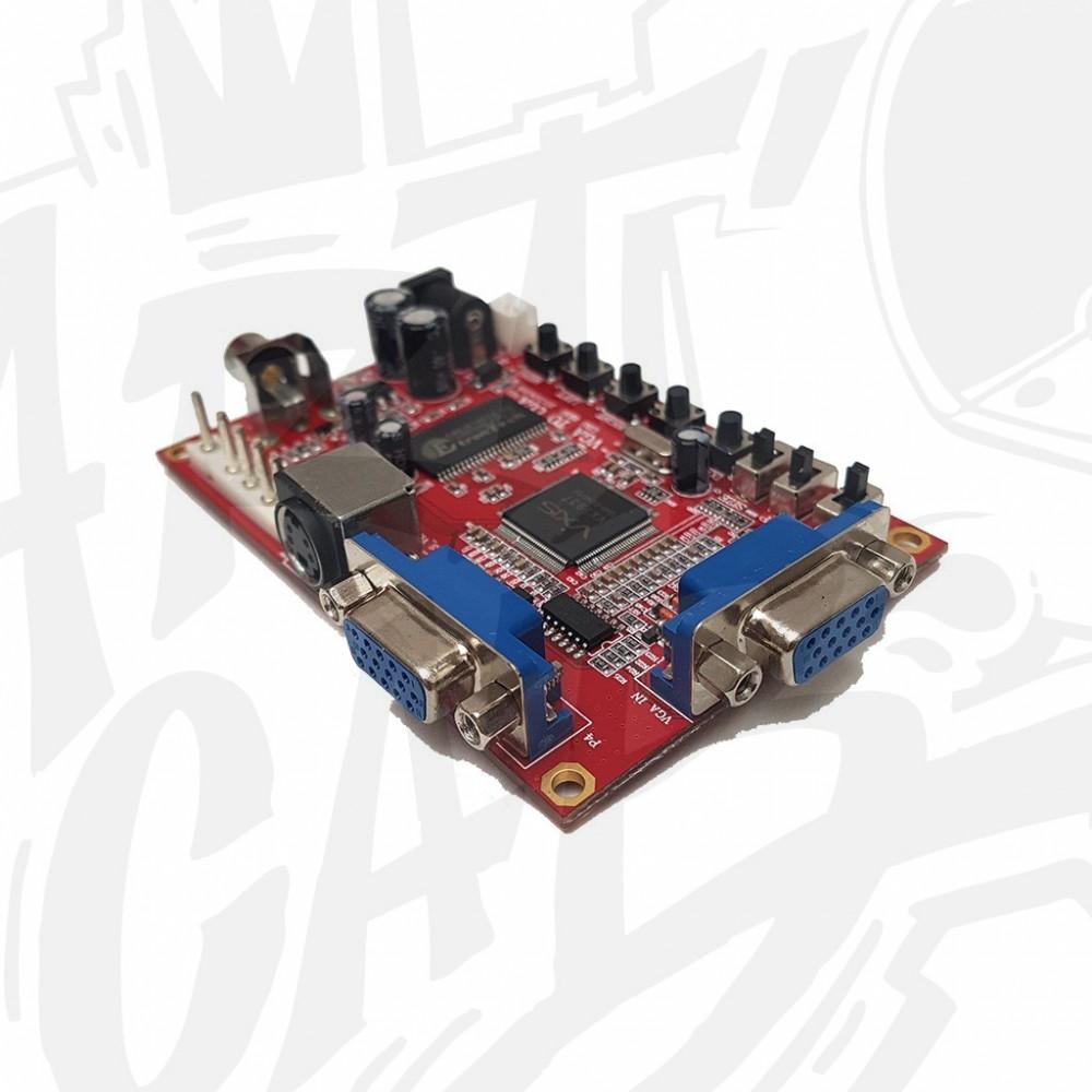 Convertisseur vidéo VGA vers CGA/RGB