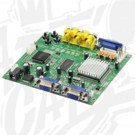Convertisseur vidéo CGA EGA vers 2 VGA