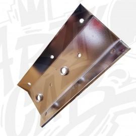 Plaque écrou intérieur pour pied de Pincab ou Flipper