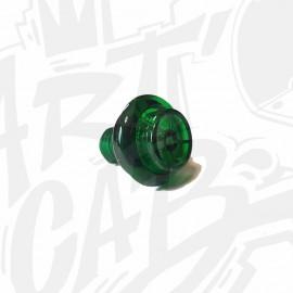 Bouton de flipper translucide - Vert