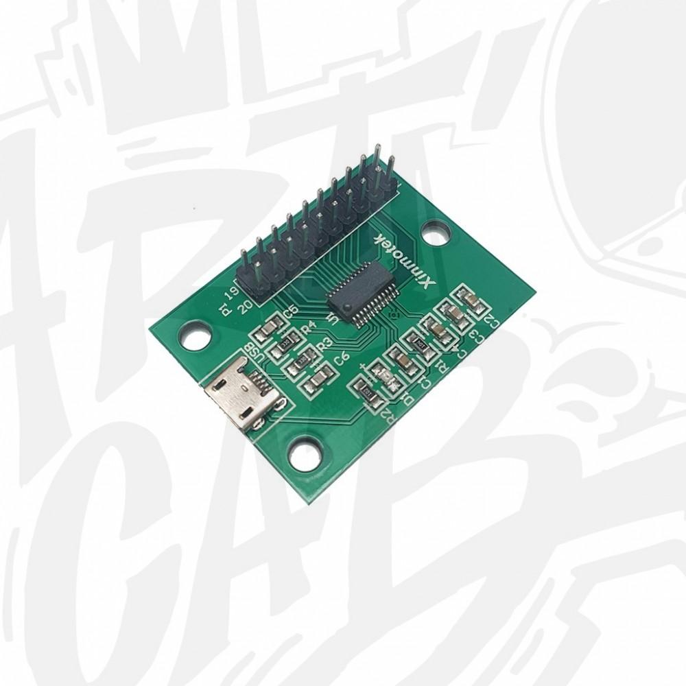 Encodeur joystick/boutons PC/PS3 1P avec cosses 4.8mm