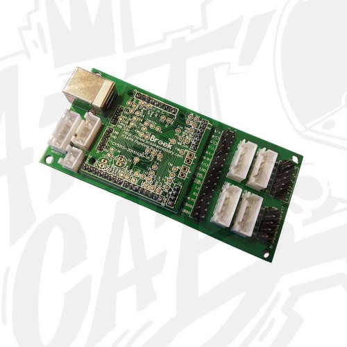 PS3/PS4 fighting board + Breakout Board - BROOK