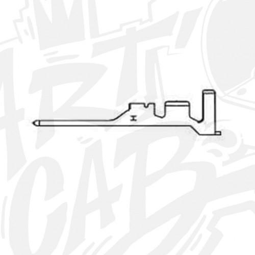 Pin Mâle pour connecteur AMP-UP Femelle