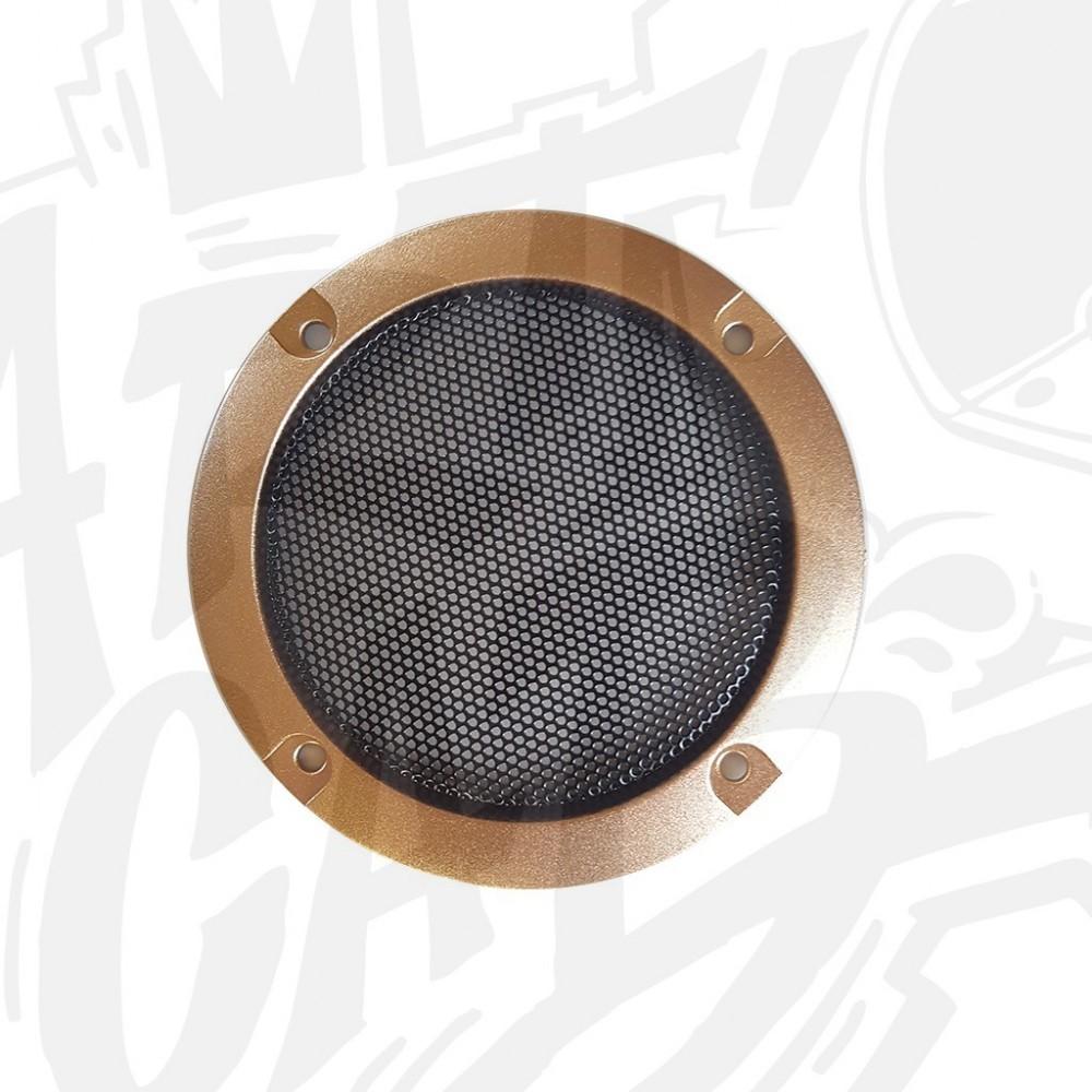 Grille haut-parleur 95mm - Gold