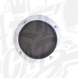 Grille haut-parleur 95mm - Blanche