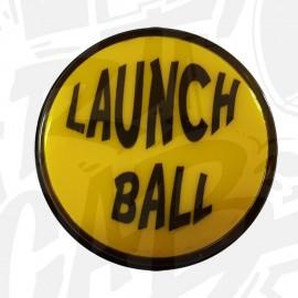 """Bouton """"Launch Ball"""" Lumineux - Jaune"""