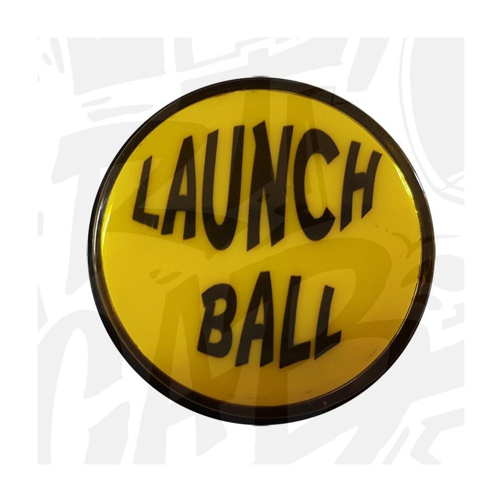 """Bouton """"Launch Ball"""" Lumineux Jaune"""