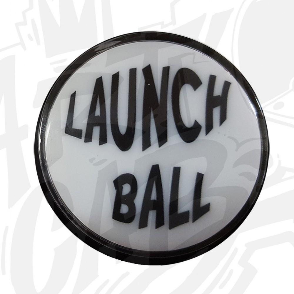 """Bouton """"Launch Ball"""" Lumineux Blanc"""