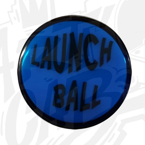 "Bouton ""Launch Ball"" Lumineux Bleu"
