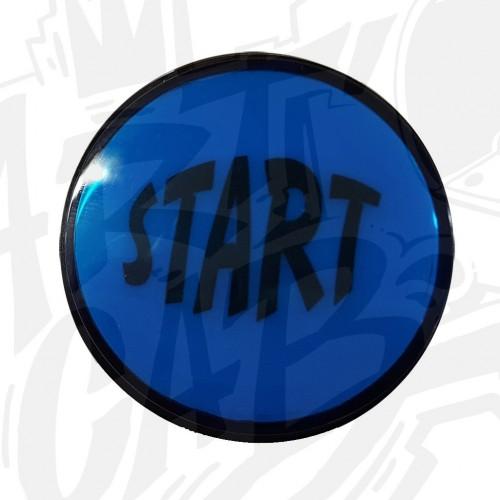 """Bouton """"Start"""" Lumineux - Bleu"""