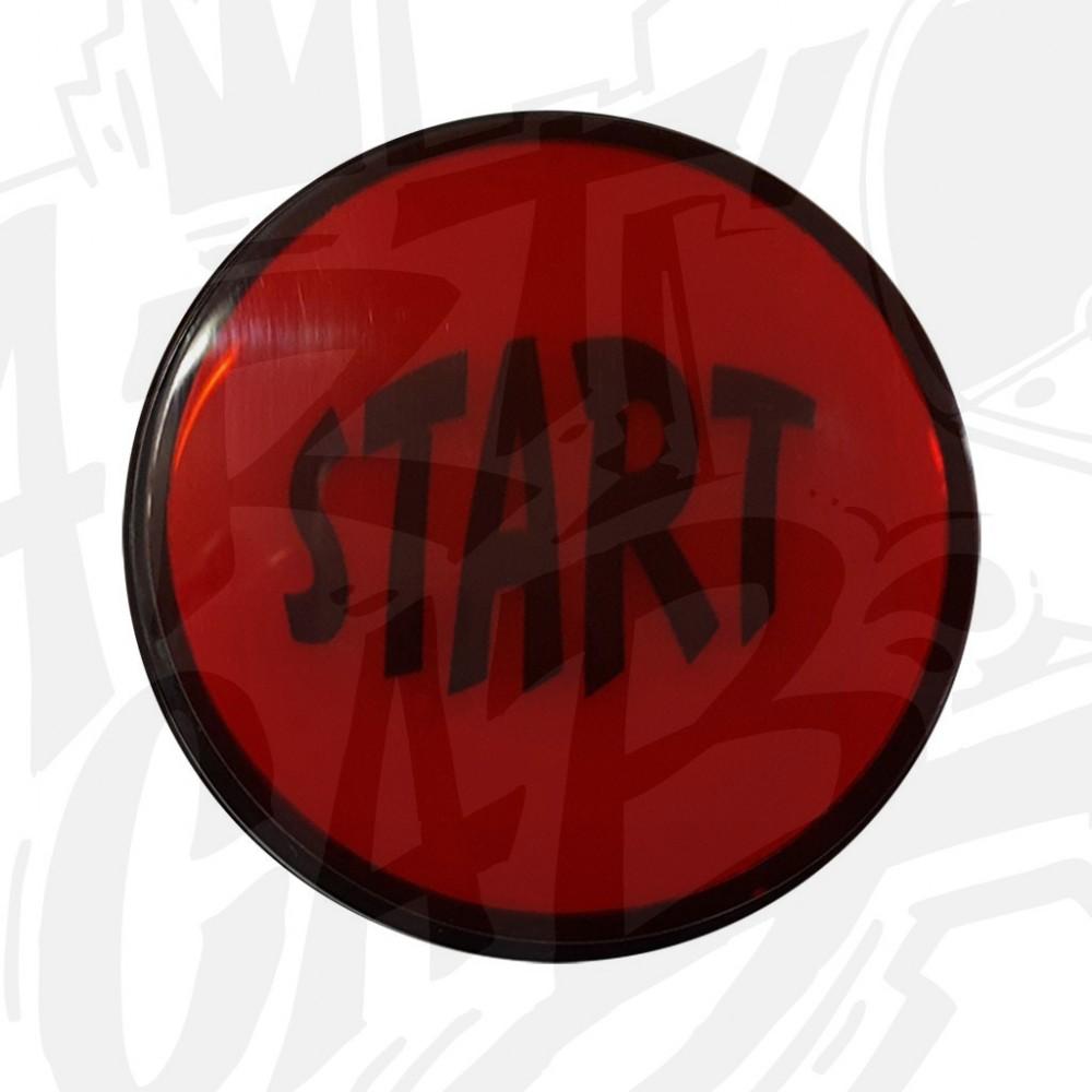 """Bouton """"Start"""" Lumineux Rouge"""