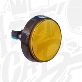 Bouton 60 mm Lumineux - Jaune