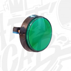 Bouton 60 mm Lumineux - Vert