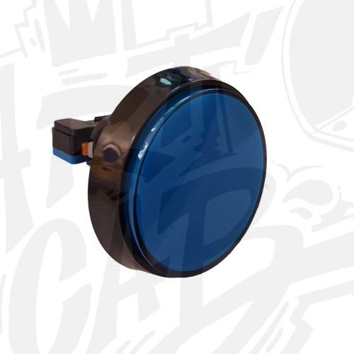 Bouton 60 mm Lumineux - Bleu