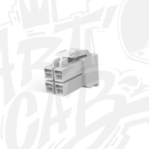 Connecteur AMP-UP Mâle 4 pin